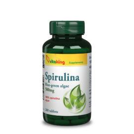 Vitaking Spirulina alga tabletta